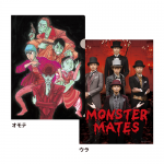 MONSTER MATES クリアファイル